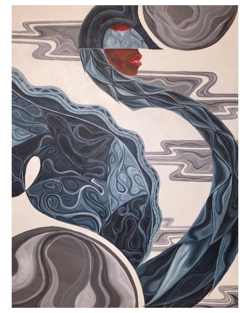 Image of Indigo Swan Flow - What Dreams May Come.