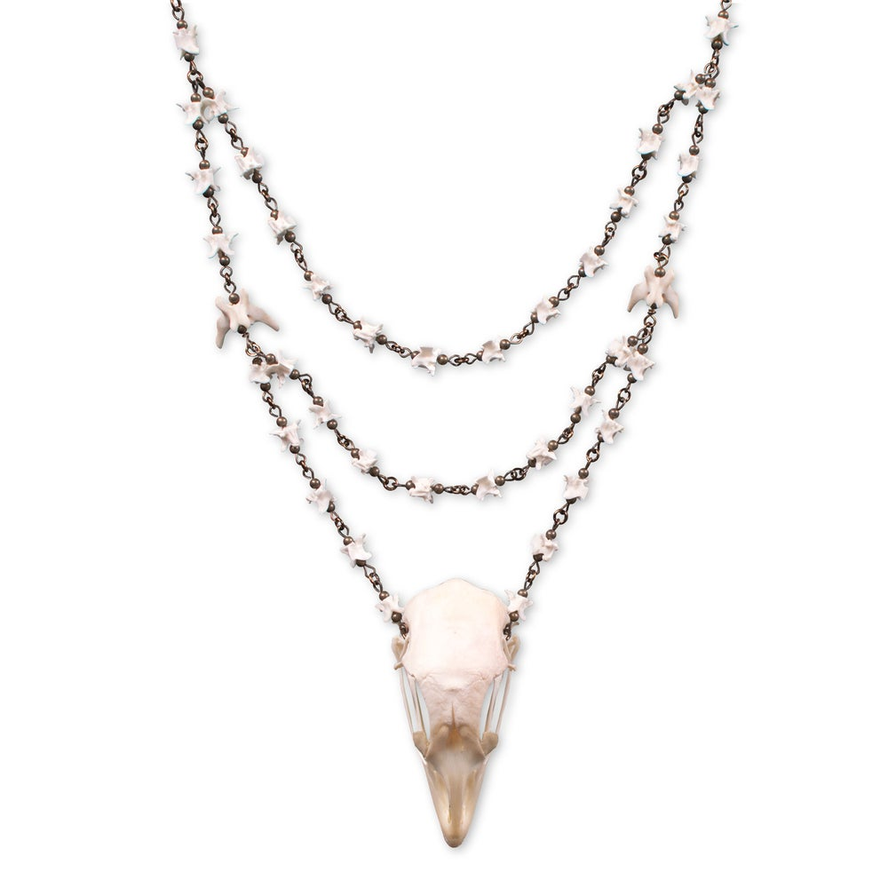 Image of Chicken Skull Triple Chain
