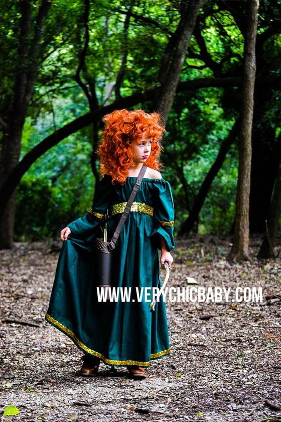 Image of Princess Merida Dress