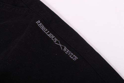 Image of RWLS Cotton Twill Joggers Black