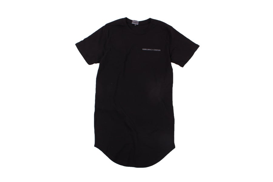 Image of RWLS Euro Curve Tee Black