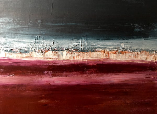 Image of Abstract Painting - Into the Deep