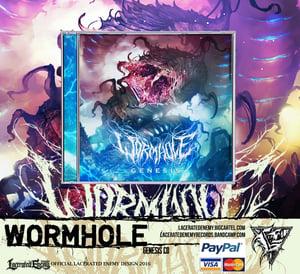 Image of WORMHOLE - Genesis CD Jewel Case