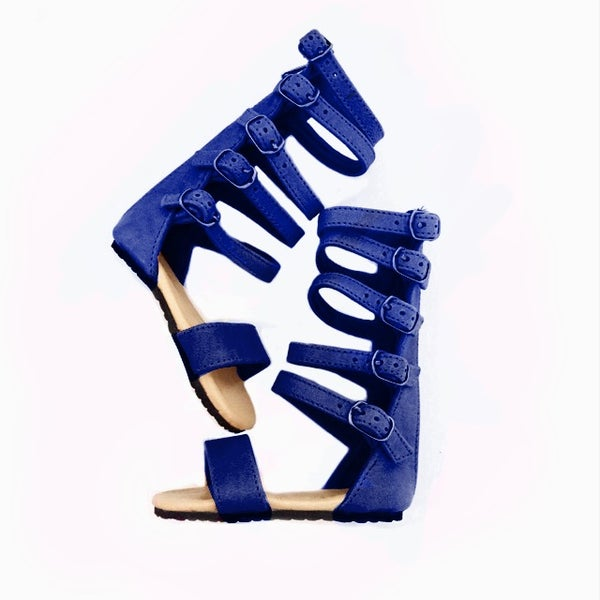 Image of  Nahla sandal -PURPLE/ BLUE