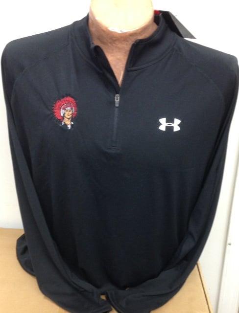 Image of Under Armour Long Sleeve 1/4 zip black