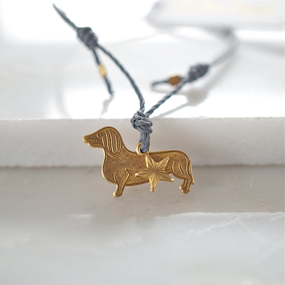 Image of Sausage dog and star friendship bracelet