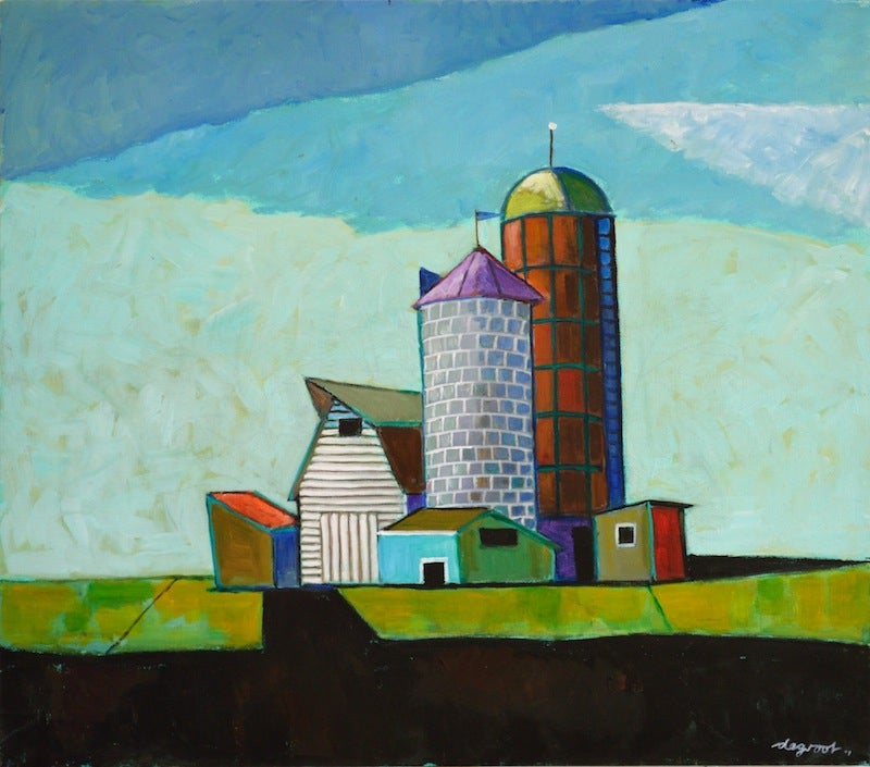 "Image of ""Still Life With Barns"" by Dick de Groot #64"