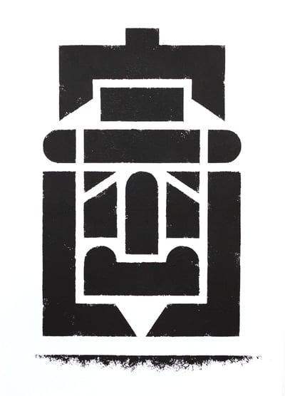 Image of Büro Destruct - Tribler Faulpelz (Original)