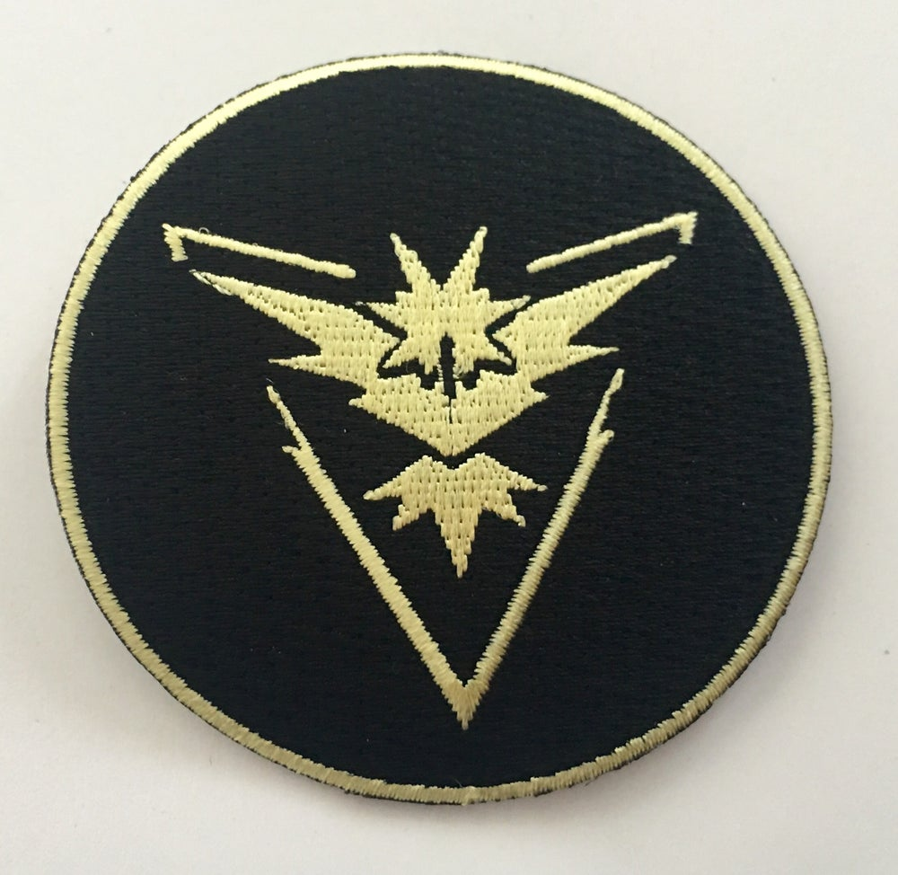"Image of Team Instinct 3"" Patch - Black or White versions"