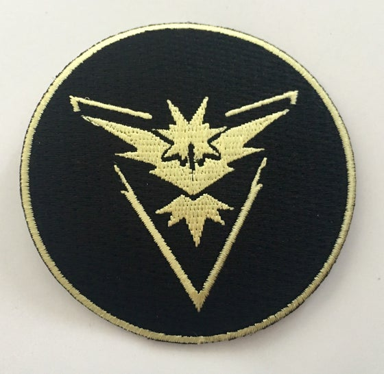 """Image of Team Instinct 3"""" Patch - Black or White versions"""