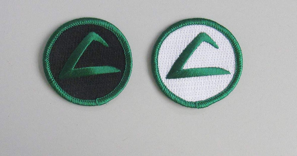 "Image of Ash Ketchum logo 2"" patch"