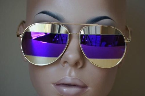 Image of Designer Inspired Dior Split Sunglasses