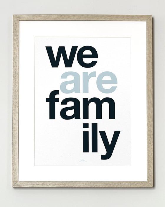 Image of FIN DE SÉRIE // Affiche We Are Family