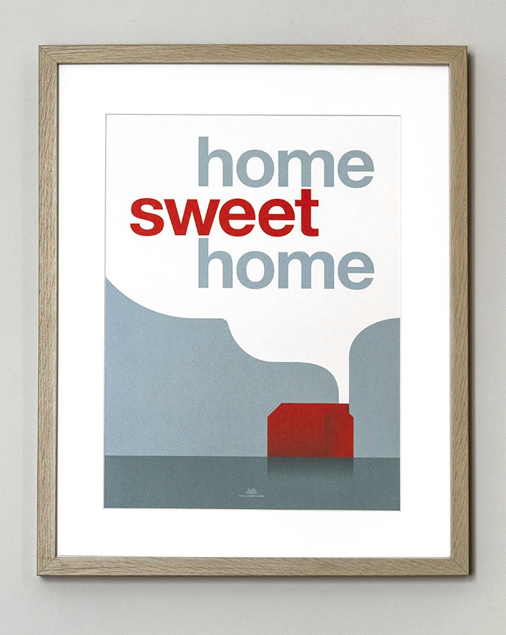 Image of FIN DE SÉRIE // Affiche Home Sweet Home
