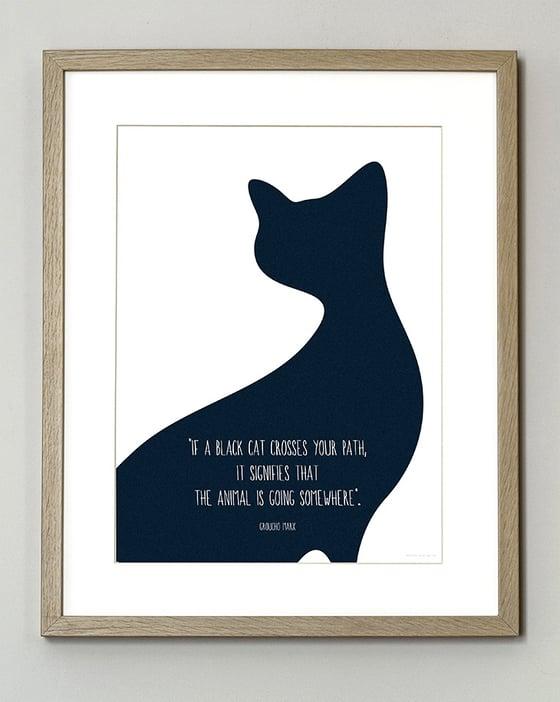 Image of FIN DE SÉRIE // Black Cat