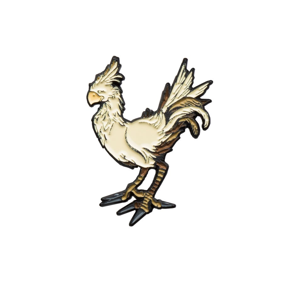 "Image of Chocobo 1.25"" Lapel Pin"