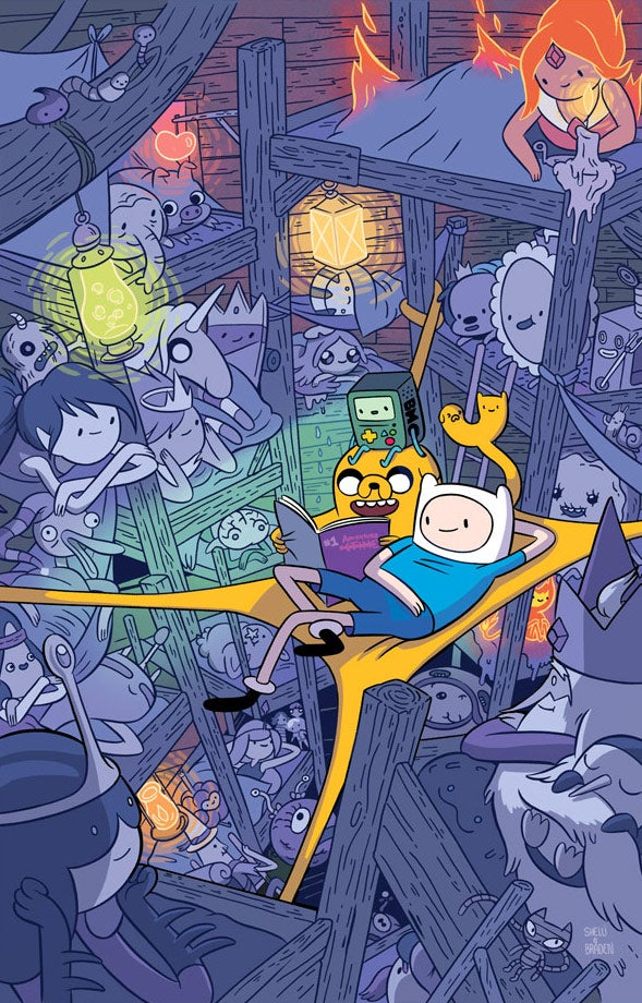 Image of Adventure Time Poster