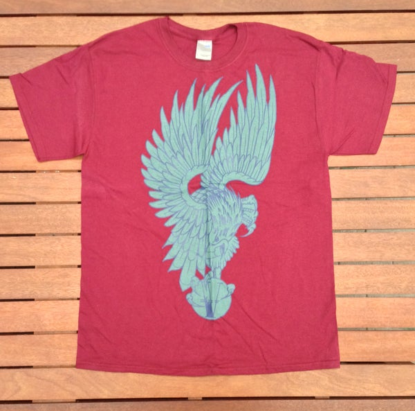 Image of Voodoo Tattoo Shirt Maroon