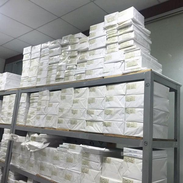 Image of 500Sheets---Eggshell Paper Sheet