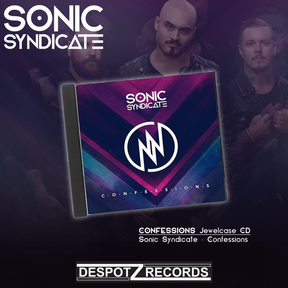 Image of Sonic Syndicate - Confessions (Jewelcase CD)