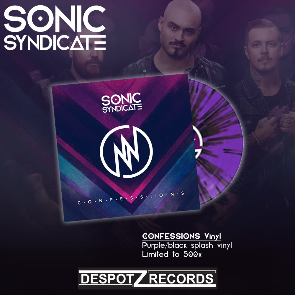 Image of Sonic Syndicate - Confessions (LP)