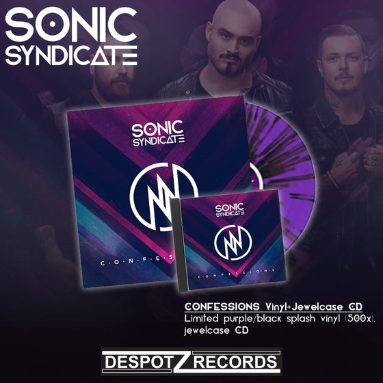Image of Sonic Syndicate - Confessions (Limited LP/CD)