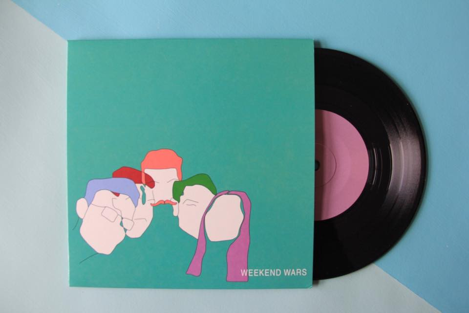 "Image of SHE/EASY 7"" VINYL"