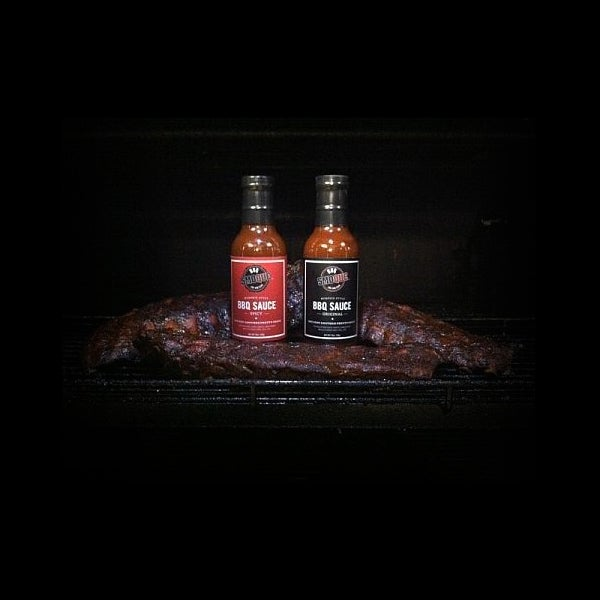 Image of Memphis Style BBQ Sauce - Full Case (Original and Spicy)