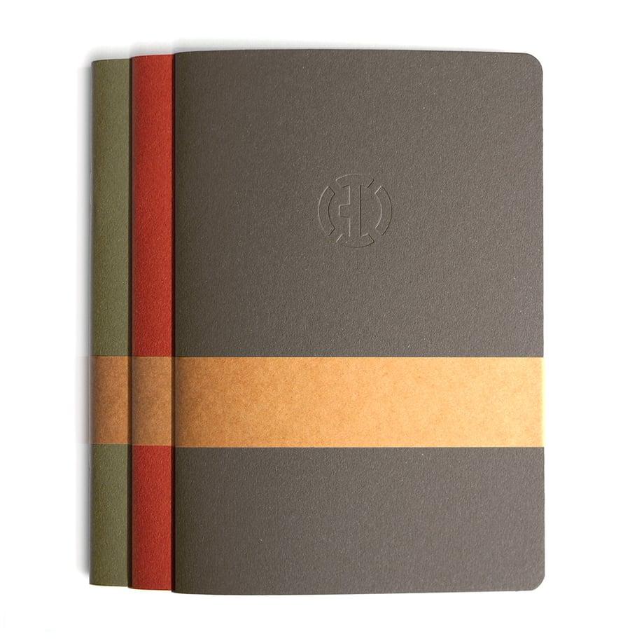 Image of Büro Destruct - Sketchbooklet Trio Bundle