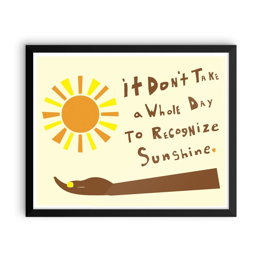 Image of Recognize Sunshine
