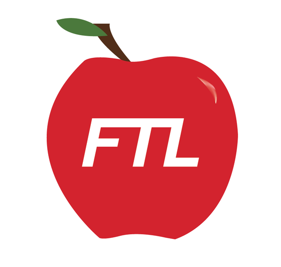 Image of Apple Die-Cut Sticker
