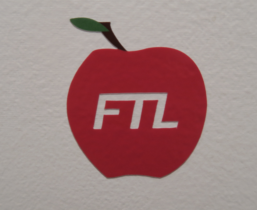 Image of Apple Die-Cut Sticker