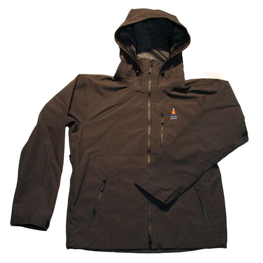 Image of Antero II Plus Hardshell Polartec Neoshell Jacket Charcoal