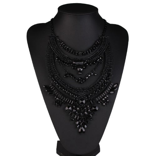 Image of Triple Slayed Statement Necklace
