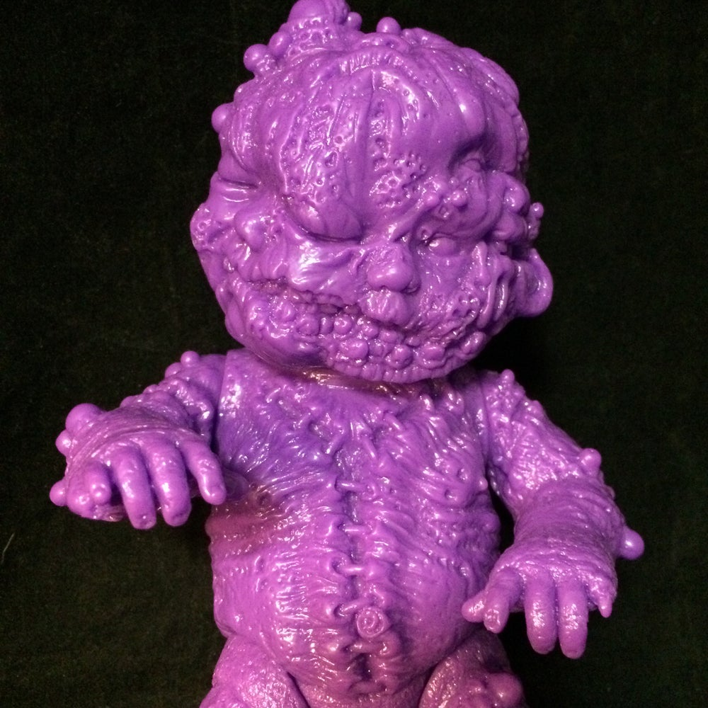 Image of Autopsy Zombie Staple Baby Blank Purple