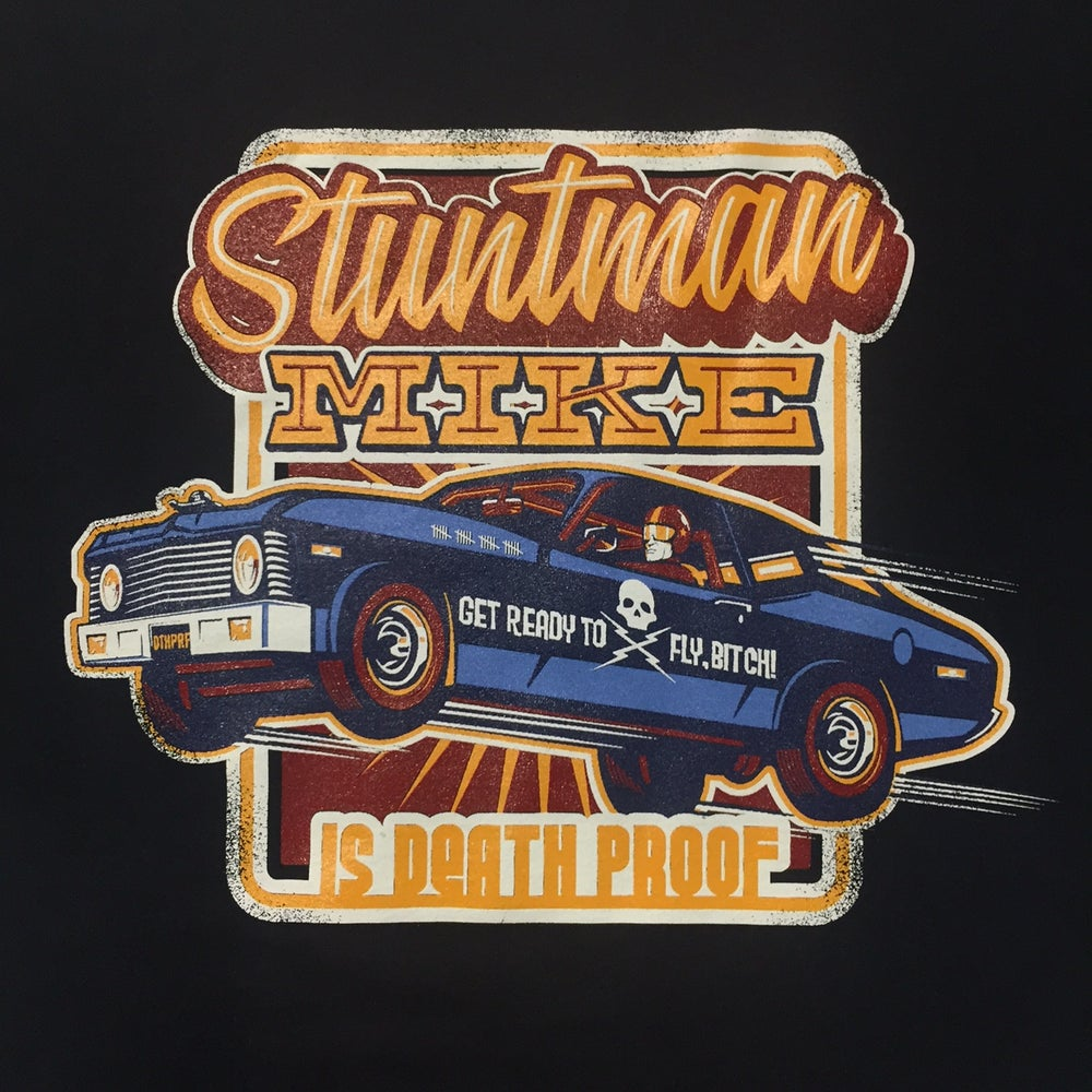 Image of Stuntman Mike Guys T-Shirt - Limited Edition Black