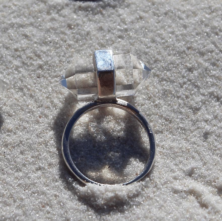 Image of Balance ring - Clear Quartz