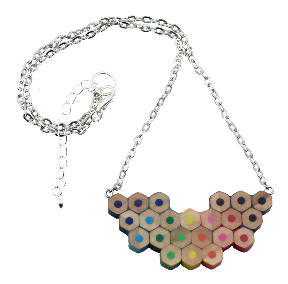Image of colour spectrum necklace