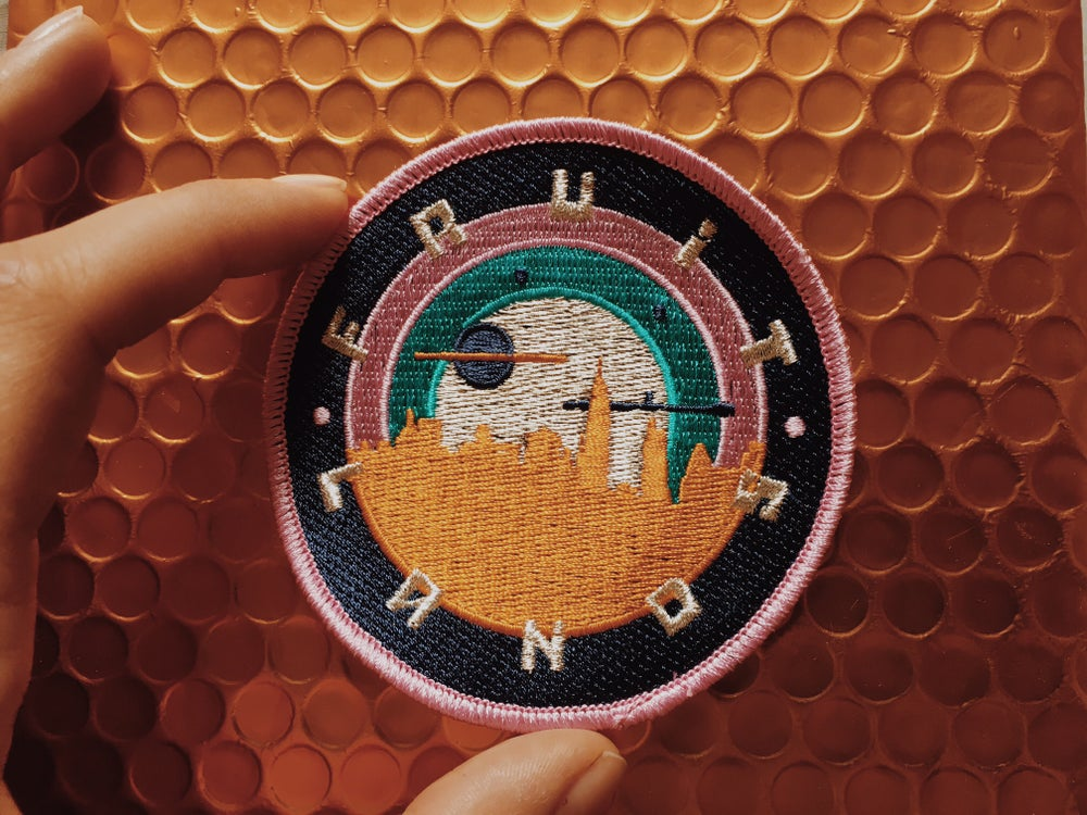 Image of FRUITLANDS ZINE SPACE PATCH