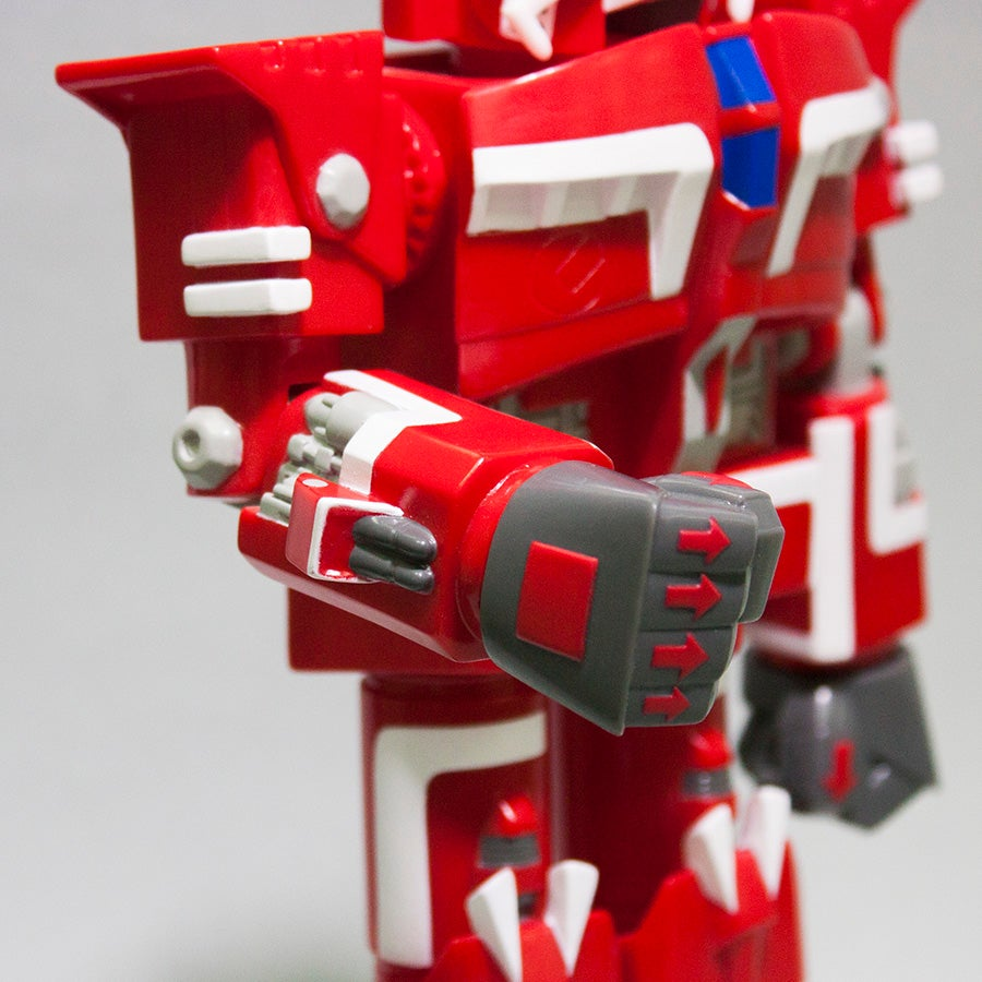 Image of X BOMBER BIG DAI-X SOFT VINYL FIGURE