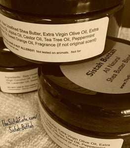 Image of Sistah Buttah - All Natural Shea Butter Blend - 8oz