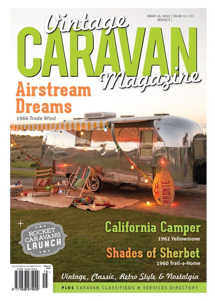 Image of Issue 15 Vintage Caravan Magazine