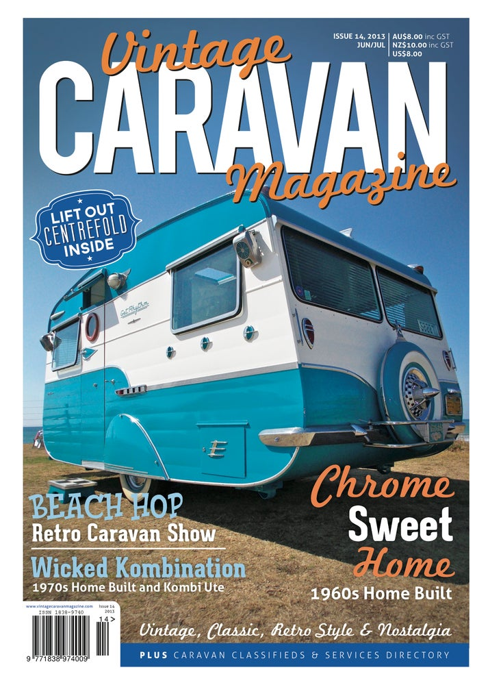 Image of Issue 14 Vintage Caravan Magazine