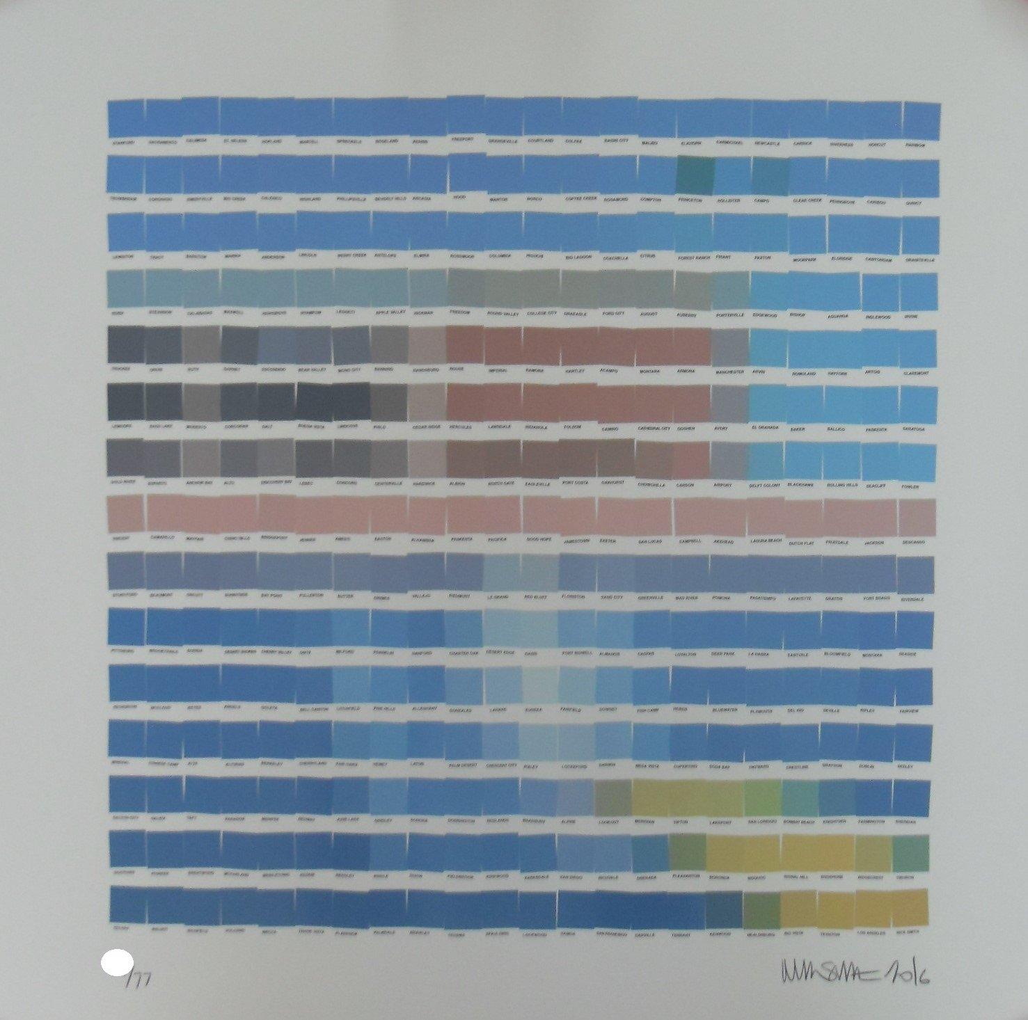 "Image of NICK SMITH ""BIGGER SPLASH"" - LTD EDITION 77 - 60CM X 60CM"