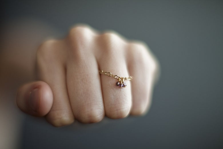 Image of Bague Perle / Chaine Or