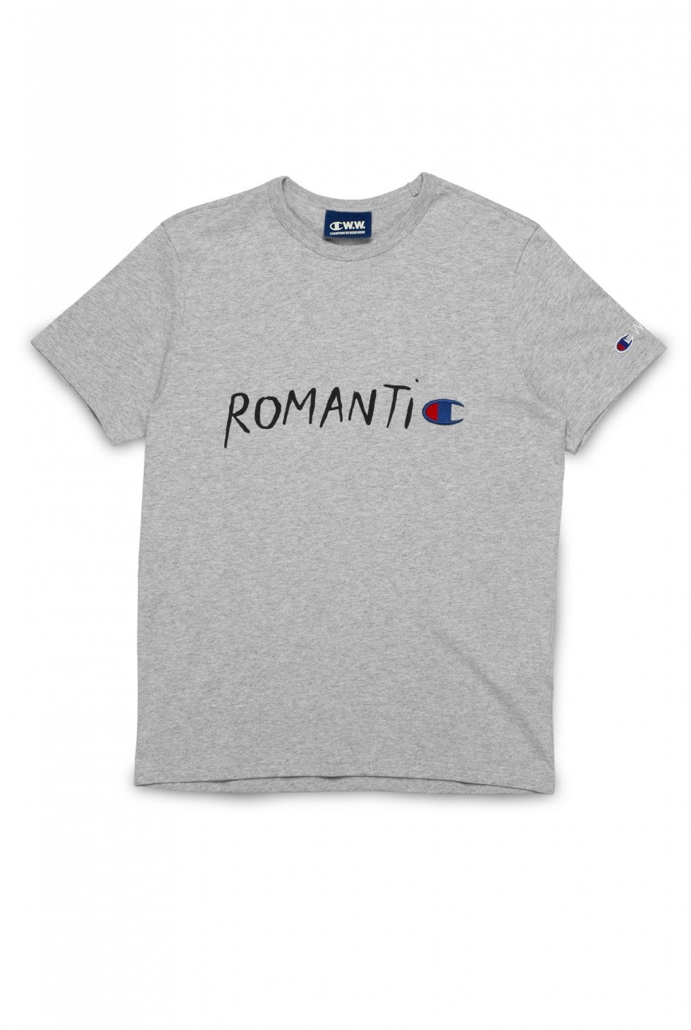 Image of CHAMPION X WOOD WOOD ROMANTIC CREWNECK T-SHIRT