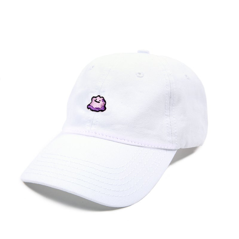 Image of  Purple Slime Low Profile Sports Cap - White