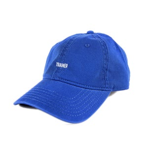 Image of  Trainer Low Profile Sports Cap - Blue