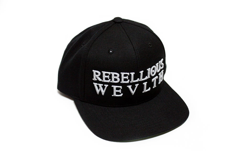 Image of RWLS Snapback Black/White