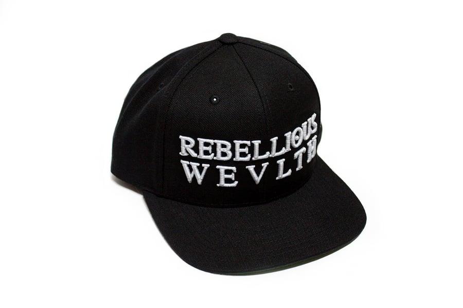 Image of RWLS Snapback Black/White